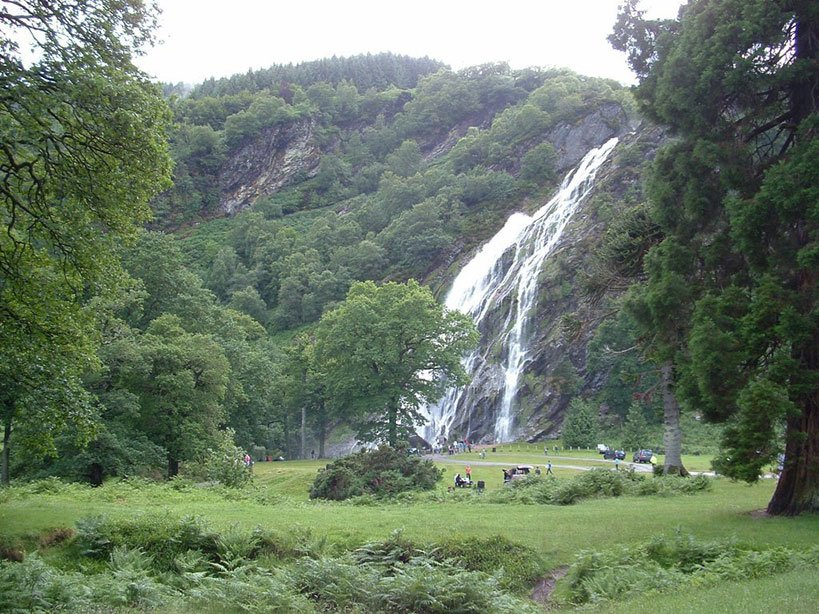 The Powerscourt Waterfall in a Day Tour to the Wicklow Mountains