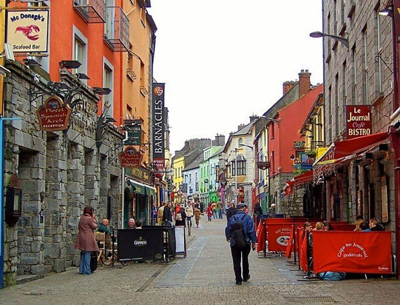 Day Tour to Galway and Its Charming Streets