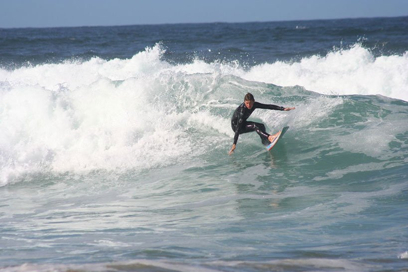 Surfing Near Louisburgh