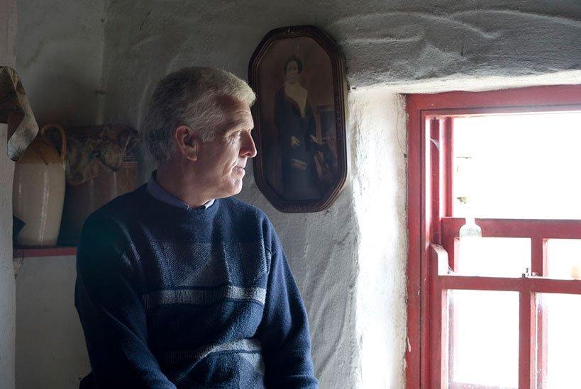 Martin at Dan O'Hara Homestead