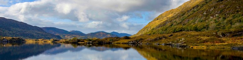 Cork's mountains reflected on water - Day Trips to Take Your Group On