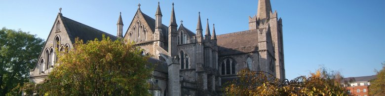 View of  Christ Church Cathedral - Dublin