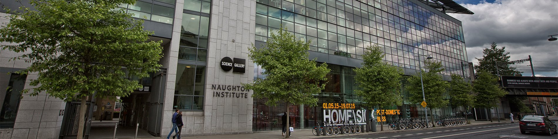 Naughton Institute Science Gallery Front on Street