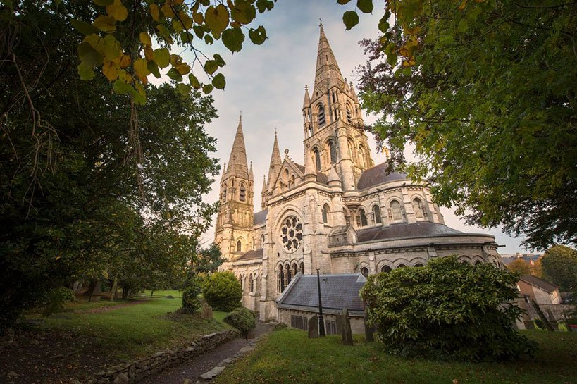 French-Gothic Style St. Fin Barre's Cathedral in Cork
