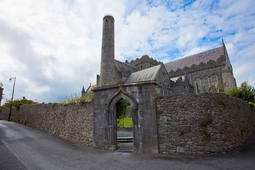 St. Canice's Cathedral and its Round Tower