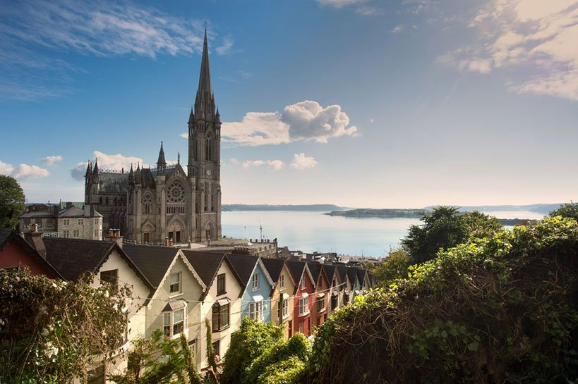 St. Colmans Cathedral Overlooking Cobh