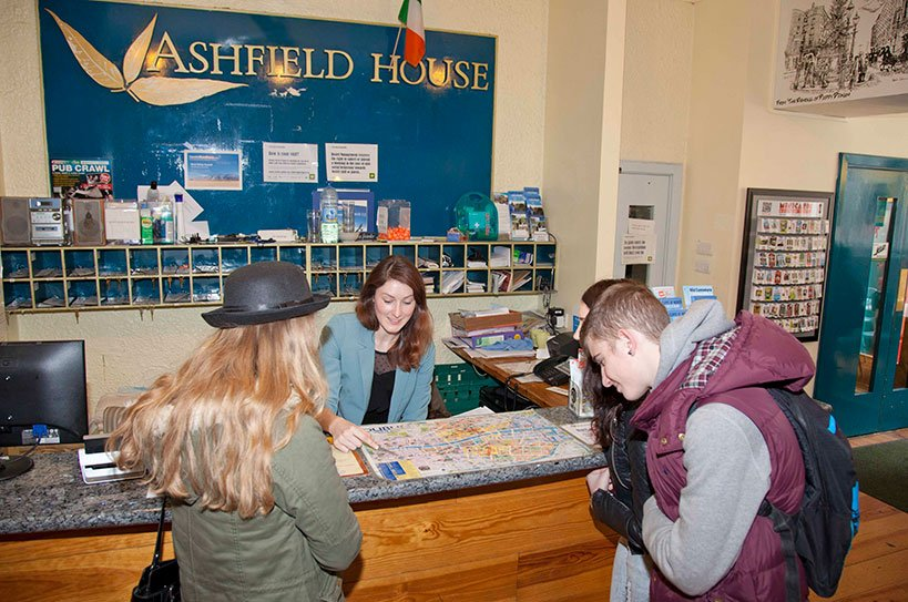 Local Experts at Ashfield Hostel Dublin