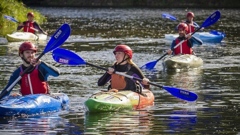 Group tour Kayaking - The Killary Adventure Centre