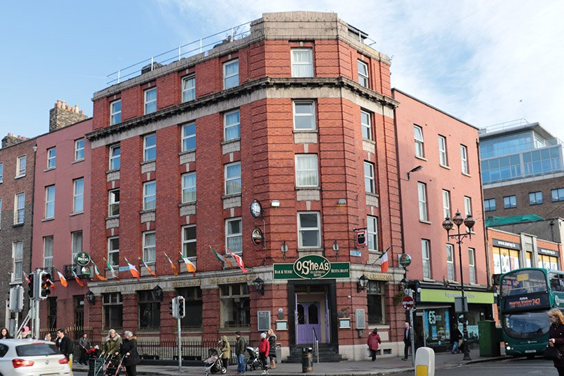 O'Sheas Dancing Lesson Venue in Dublin