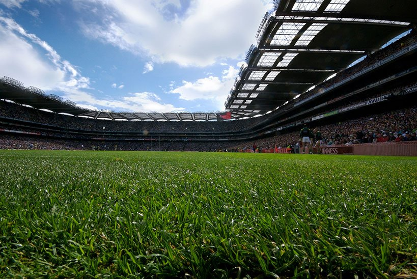 Gaelic Games at Croke Park Stadium in Dublin