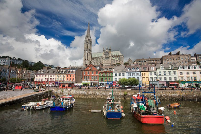 Tour to Cobh in Co. Cork