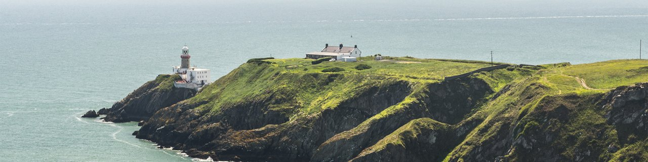 Howth's lighthouse - Day trip from Dublin on the DART