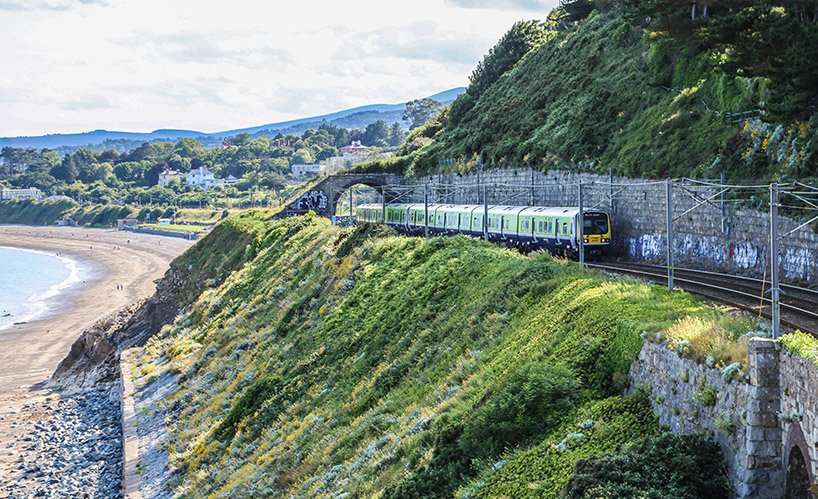 Train on the Coastal Route near Dublin - Spectacular Day Trip To Howth