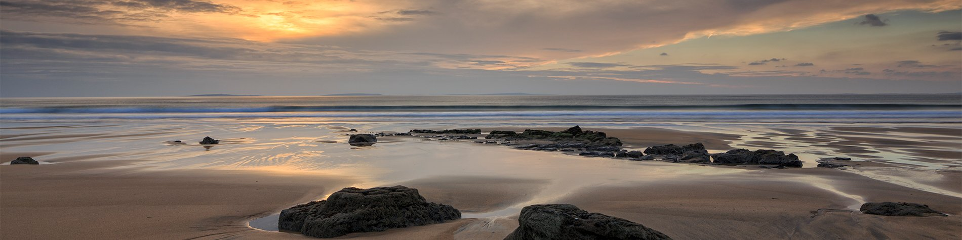Fanore Beach sun set - Ireland's best beaches to Visit on Your Group Trip