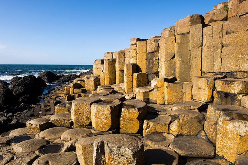 UNESCO World Heritage Site Giant's Causeway