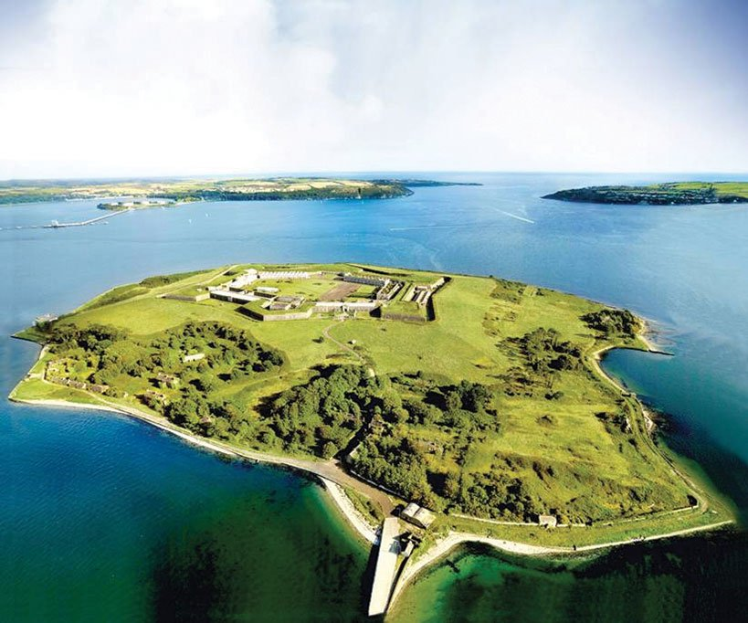 Fort Mitchell on Spike Island
