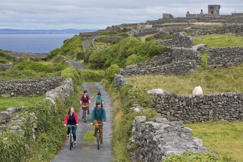 Cycling Group on Aran Islands